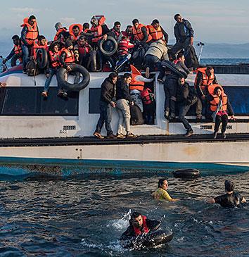 Aviserne lod ikke kritisk mindretal komme til orde under flygtningekrisen