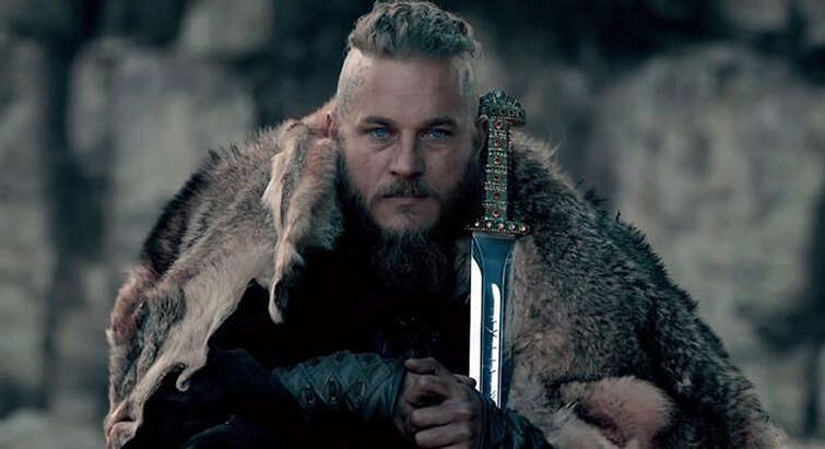 Ragnar Lothbrok fra tv-serien Vikings