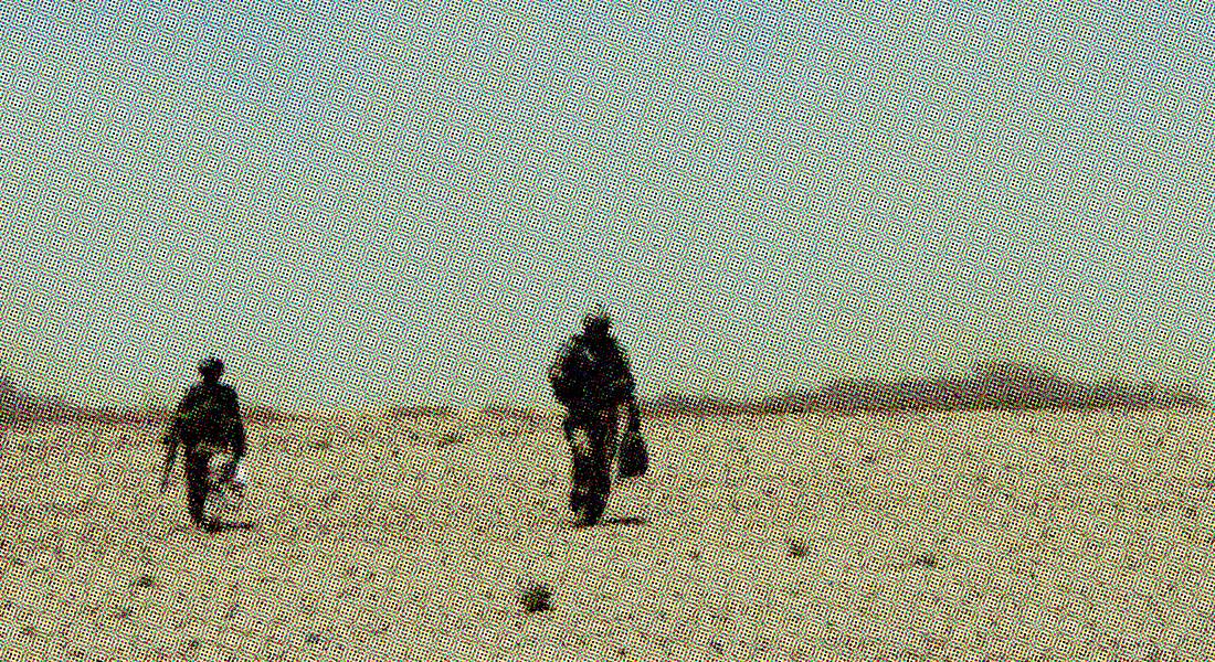 Der var ingen strategi bag den danske krigsdeltagelse i Afghanistan - kun et ønske om at bevare det gode forhold til USA. Danske soldater i Helmandprovinsen i 2006. Foto: Forsvaret